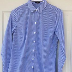 Ann Taylor Button Up Dress Shirt